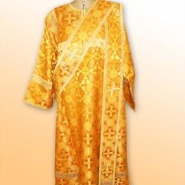 Vêtements sacerdotaux de diacres [dorés]